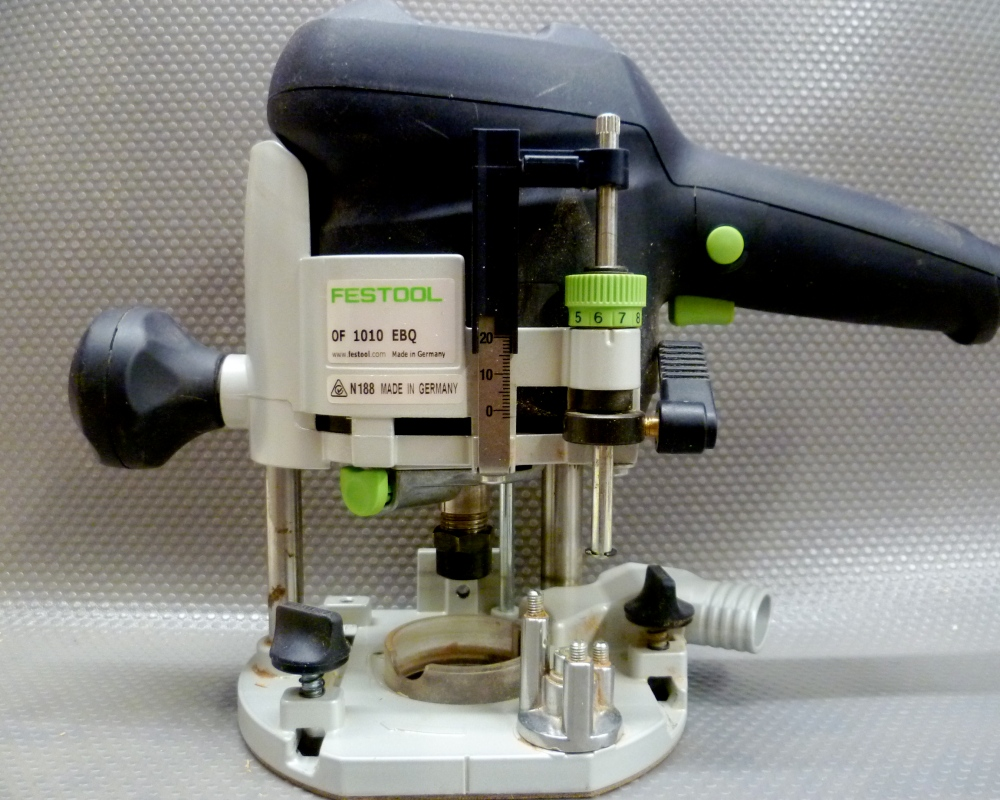 How to get the most from your Festool OF1010 Router