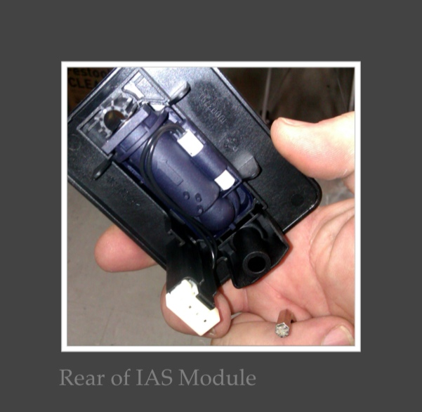 Fitting an I.A.S module to a CT26 Extractor (4/6)