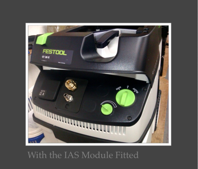 Fitting an I.A.S module to a CT26 Extractor (5/6)